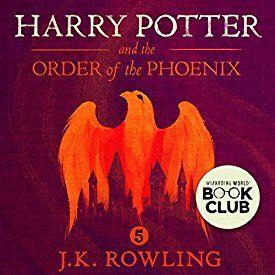 """Ein weiteres Hörbuch-Muss in meiner #AudibleApp: """"Harry Potter and the Order of the Phoenix, Book 5"""" von J.K. Rowling, gesprochen von Stephen Fry."""