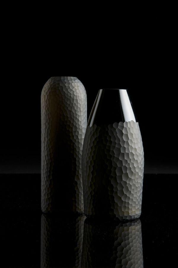 CMF we like / vase / Black / Glas / Polisched / Mate / Pattern / Furniture / at takeovertime