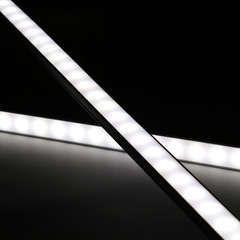 Slim-Line Alu LED-Lichtleiste ab 33cm mit 18x 5630 LEDs -...