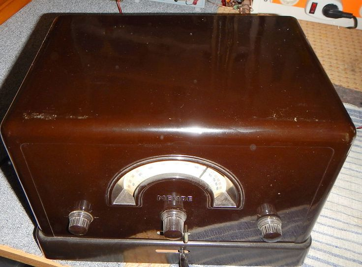 Mende 169W Röhrenradio von 1931 schön erhalten   RE Röhren