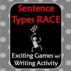 Sentence Types Race Game! Simple, compound, and complex sentences have never been so fun! This exciting whole class game has three rounds of comple...