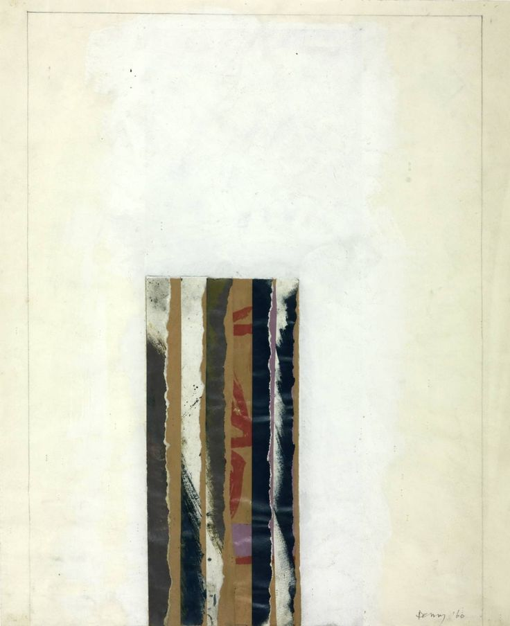 Robyn Denny 'Figure I', 1960 © Robyn Denny
