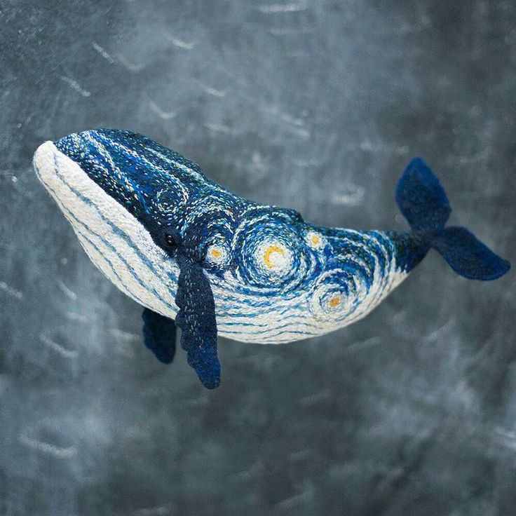 http://sosuperawesome.com/post/167757754380/starry-night-embroidered-whale-by-valentina