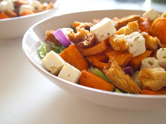 Sweet potatoe salad.
