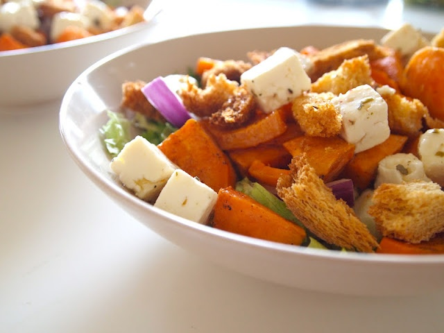 Sweet potatoe salad.