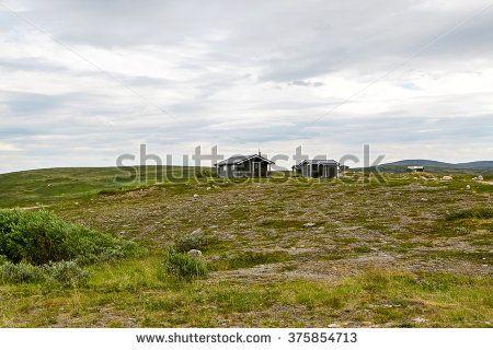 Beautiful tundra landscape of Norway, Scandinavia