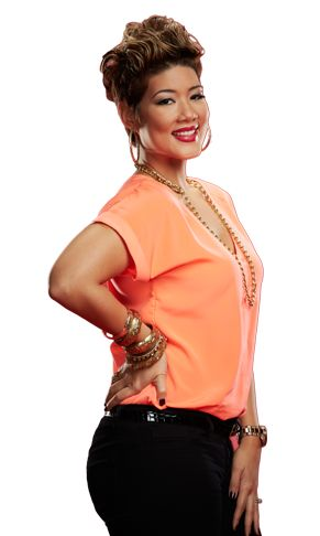 Tessanne Chin--- I have been walking around all day trying to talk like Tessanne Chin, and america, all I can say is, why aren't you???? If everyone talked like her we'd have found world peace.  Make this happen.