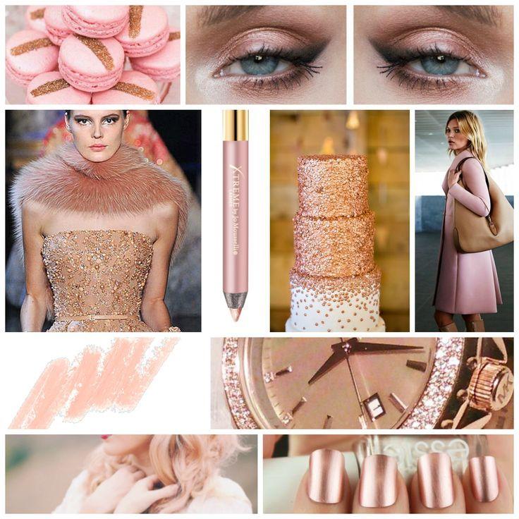 Creion GlideLiner Rose Gold! www.xtremelashes.ro