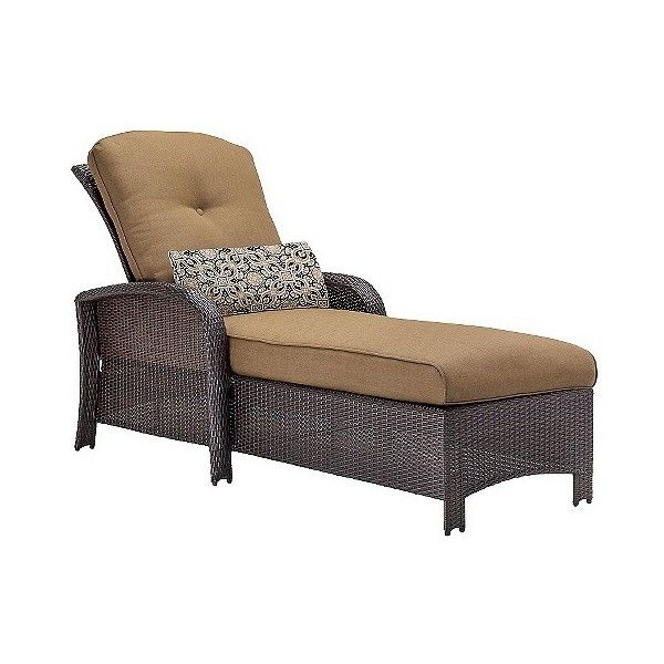 Patio Chaise Lounge Hanove, Country Cork ($810) ❤ liked on Polyvore featuring home, outdoors, patio furniture, outdoor loungers & day beds, country cork, outdoor chaise lounge chairs, brown chaise, outdoor chaise lounger, outdoor lounge and outdoor lounger
