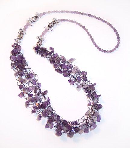 Wire Crochet Necklace Tutorials - The Beading Gem's Journal