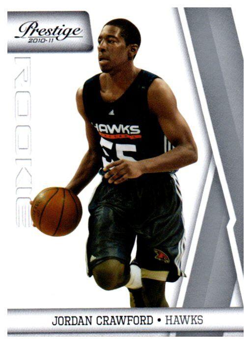 2010-11 Prestige Jordan Crawford Rookie Card Atlanta Hawks