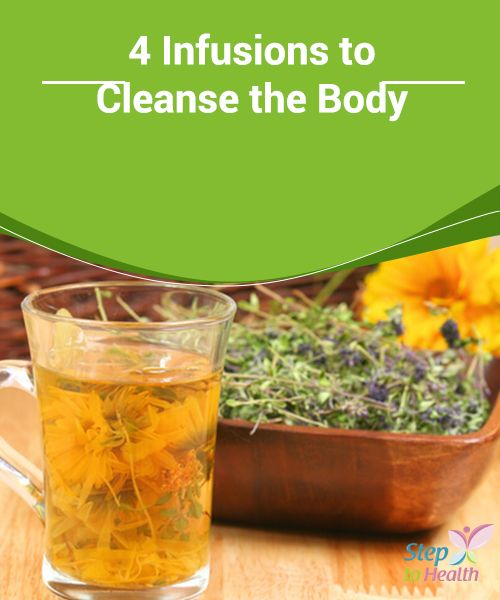 4 #Infusions to Cleanse the Body   We tend to build up #toxins in our #body, for…
