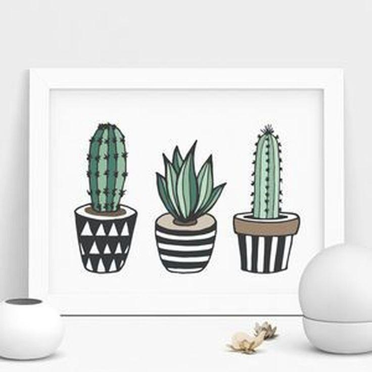 41 Awesome Cactus Decor-Ideen für Ihr Zuhause