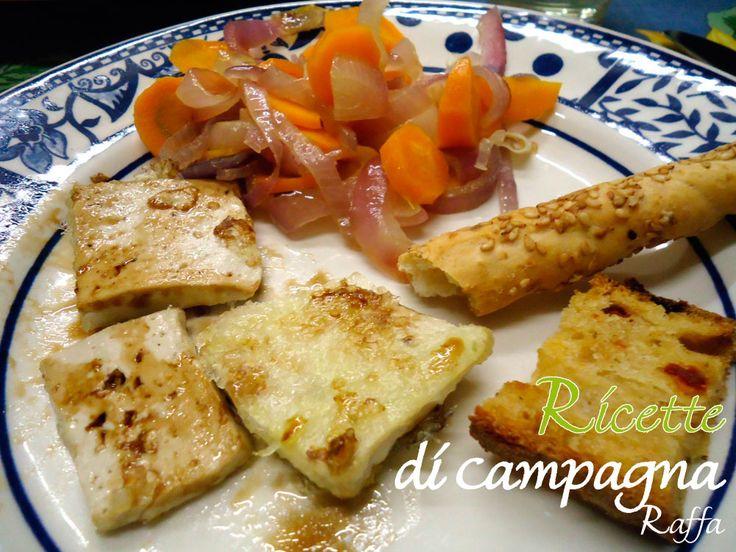 Tofu croccante con verdure