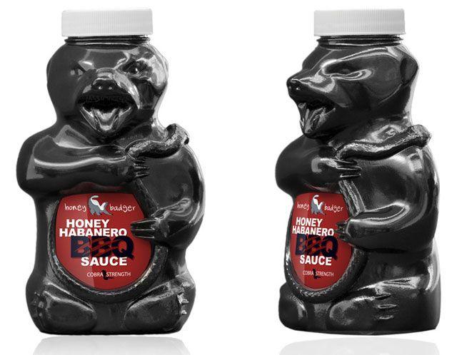 Honey Badger BBQ Sauce, A Sauce Inspired by an Internet Meme