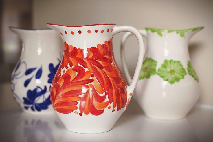 Azulina Ceramics - Amapola Serving Pitcher, $86.00 (http://shop.azulina.com/amapola-serving-pitcher/)