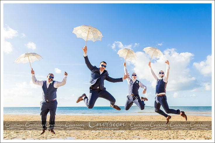 Brendan and Groomsmen- up, up and away!!!