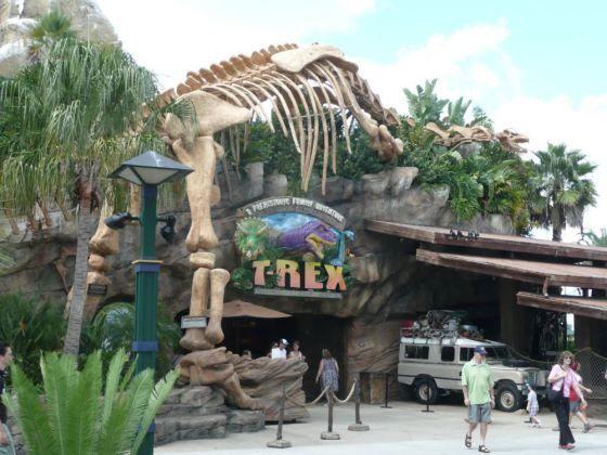 T. rex cafe downtown Disney world
