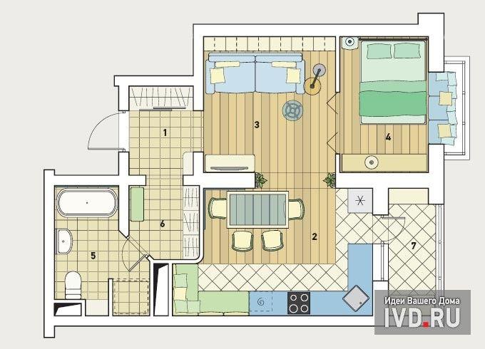 проем в стене между кухней и гостиной http://www.ivd.ru/document.xgi?id=7840