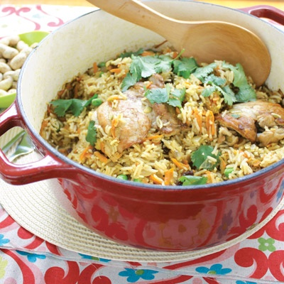 Easy chicken pilaf