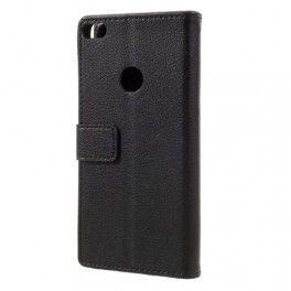 Huawei Honor 8 Lite musta puhelinlompakko.