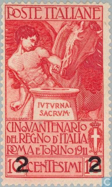 Italy [ITA] - Kingdom of Italy 50 years 1913