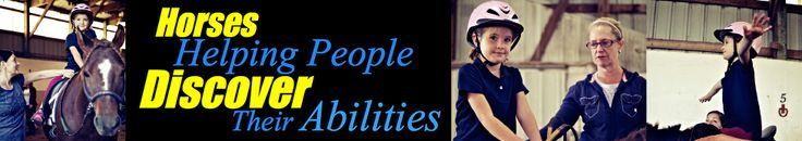 We Can Ride - Therapeutic Horseback Riding for People with Disabilities located in the Twin Cities, Minnesota, USA - We Can Ride Inc. An Amazing organization to volunteer with