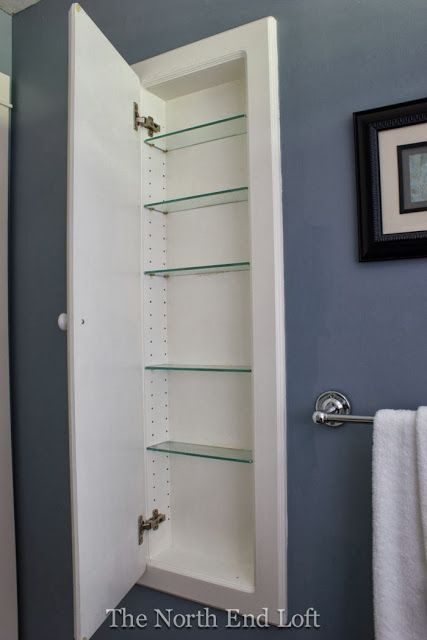 Bathroom Wall Shelves Decor
