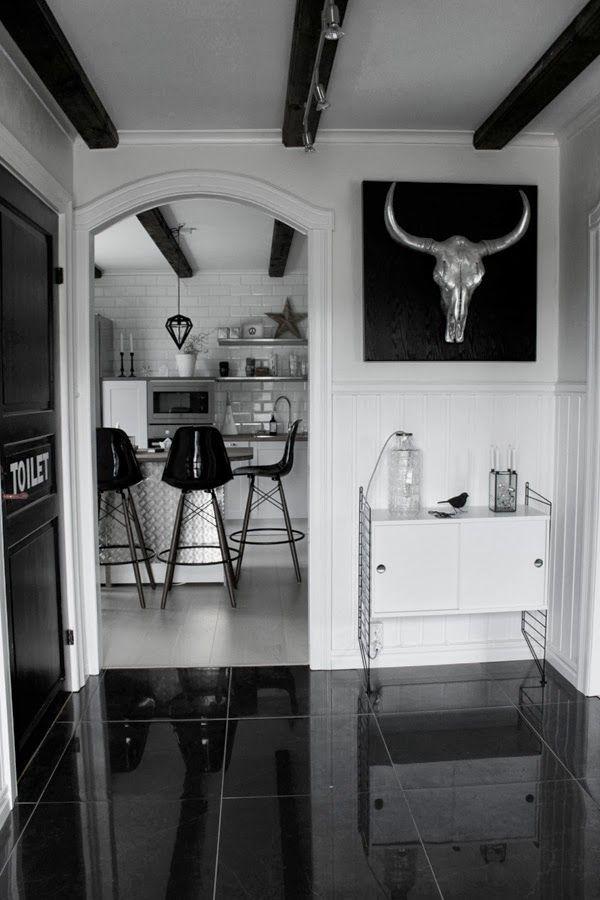 Renoverat kök och hall