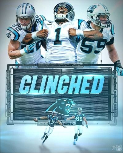 12/24/17 Panthers win over Tampa Bay, earns them a Playoff spot.