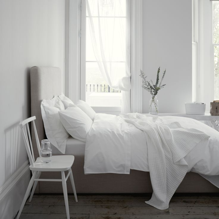 200 Thread Count Egyptian Cotton Bed Linen | Bed Linen | Bedroom | The White Company UK