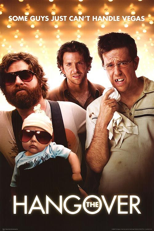 The Hangover... such a hilarious movie