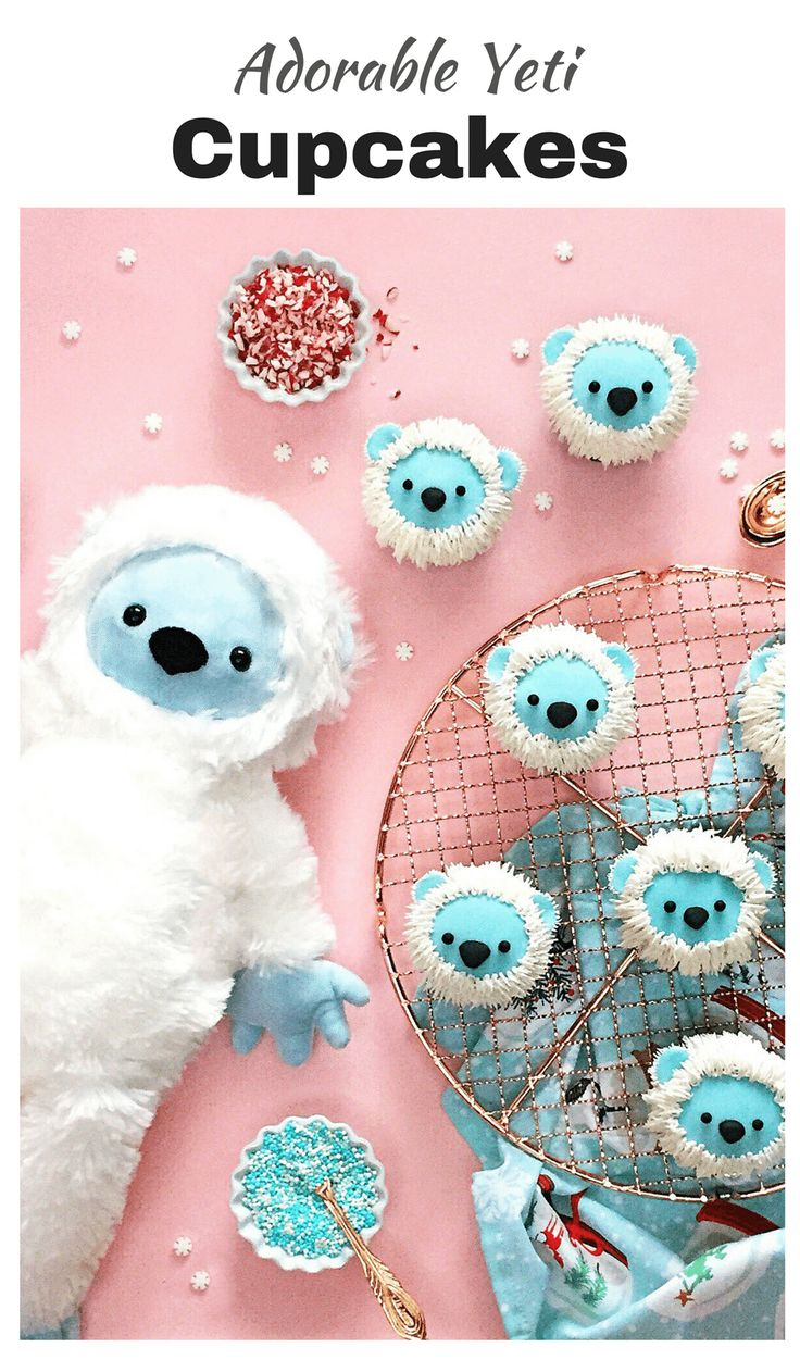 Epic Food Design: Cookie Monster Donuts, Yeti Cupcakes, Winnie the Pooh Smoothie, Party Animal Cookies, Bunny Rolls and Character Toast