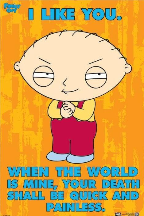 Ha! Family Guy posters - Family Guy Stewie poster PP32117 - Panic Posters