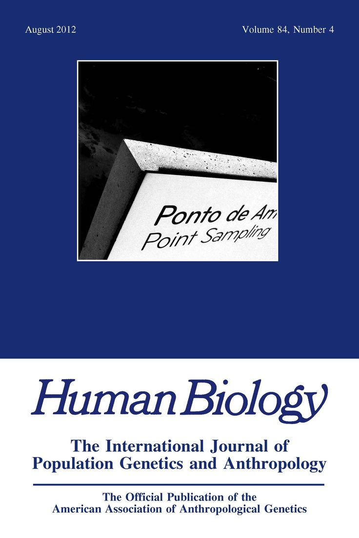 Human Biology: The International Journal of Population Genetics and Anthropology  | Edited by Evelyne Heyer and Franz Manni | Wayne State University Press