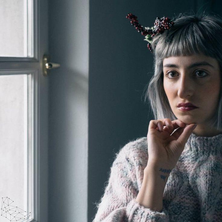 Giui is not an artist  #giuisnotanartist #hair #grannyhair #greyhair #hair