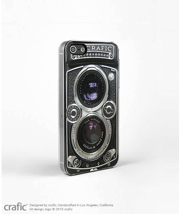 Vintage Camera Silver Lens iPhone 5/5S Case Retro iPhone by CRAFIC, $19.99