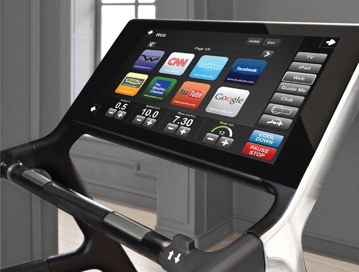 TechnoGym Treadmill Run Personal VisioWeb - bei uns für 12'500 CHF - alles inbegriffen!