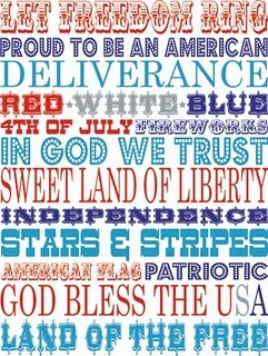 Let Freedom Ring......  A Matter of Memories: :LINKS: Freebies for Independence Day...: 4Thofjuly, Ink Doodles, Subway Art, Fourth Of July, July Printables, 4Th Of July, July 4Th, Free Printables, Pink Ink