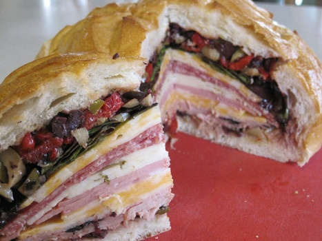 New Orleans Famous muffuletta