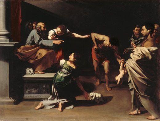 Juicio de Salomón', José de Ribera / Maestro del juicio de Salomón. Óleo sobre lienzo, 153 x 201 cm. h. 1609-1610 /Roma, Galleria Borghese