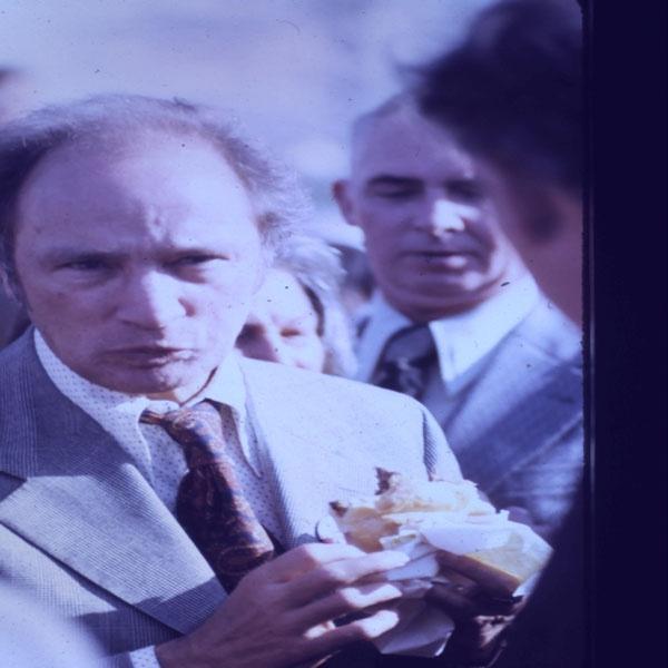 Pierre Trudeau, 1974 - candid shot