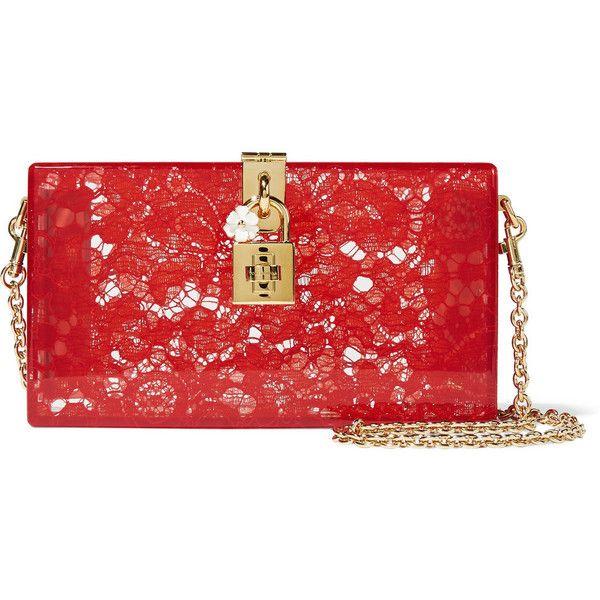 Dolce & Gabbana Clutch Bag On Sale, Dark Anthracite Grey, Plexiglass, 2017, one size