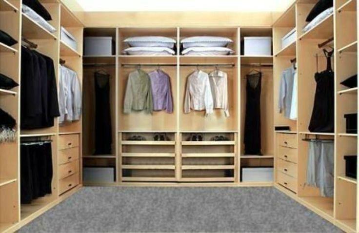 Vestidor de madera a la medida closet 39 s de otras casas for Closet en madera