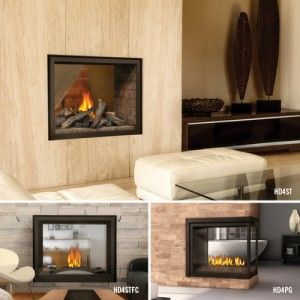 Multi-View Series HD4 Direct Vent Fireplace  Napoleon's new HD4 Multi-View Series is available as a See Thru or a three-sided Peninsula