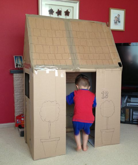 best 25 cardboard playhouse ideas on pinterest