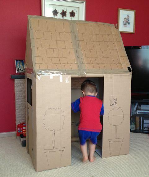 best 25 cardboard playhouse ideas on pinterest