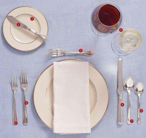 How To Properly Set A Table Remedies Pinterest