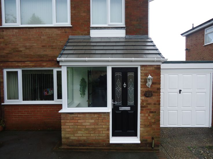 Extensions to the front of small house uk google search for Building front door design
