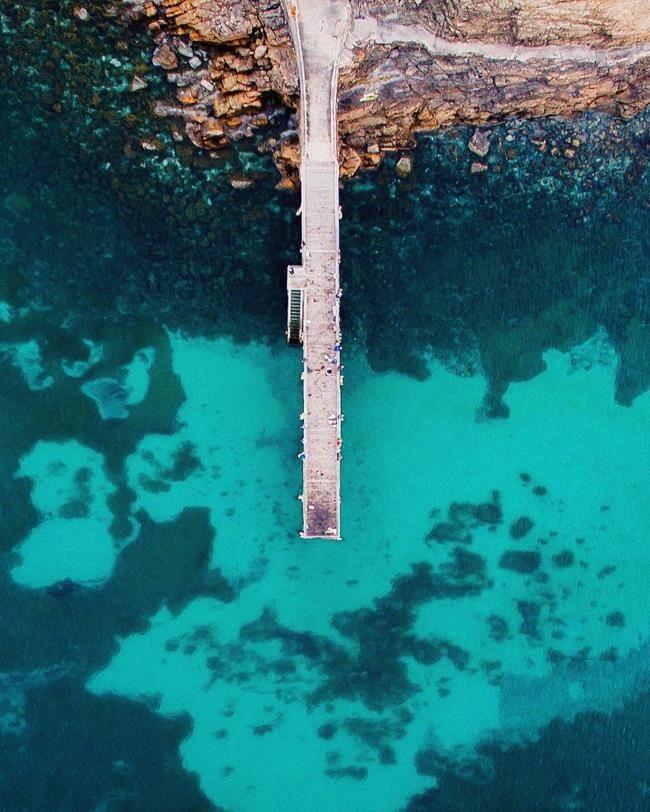 Kuşbakışı Çekilen Fotoğraflar ile Deniz ve Şehrin Güzelliğini Gözler Önüne Seren 20+ Fotoğraf Sanatlı Bi Blog 12